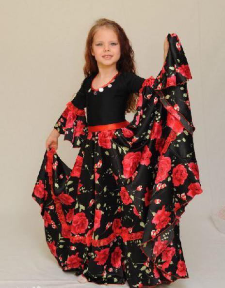 Как сшить цыганскую юбку для девочки