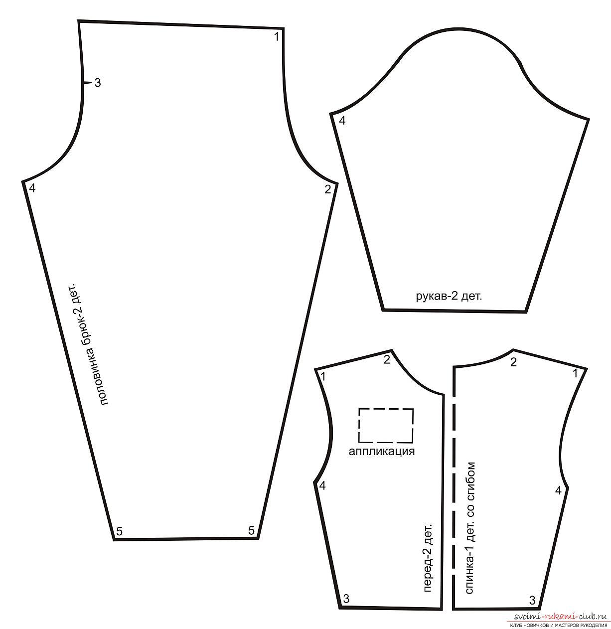 Tejer para bebé nacido. Cómo coser ropa para Baby Born