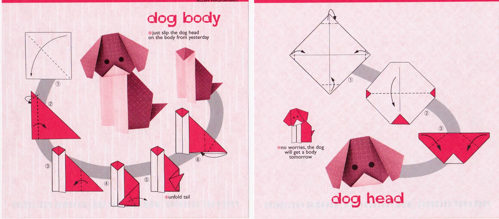 How to Make an Origami Dog: Step-by-Step DIY Instructions | 766x1746