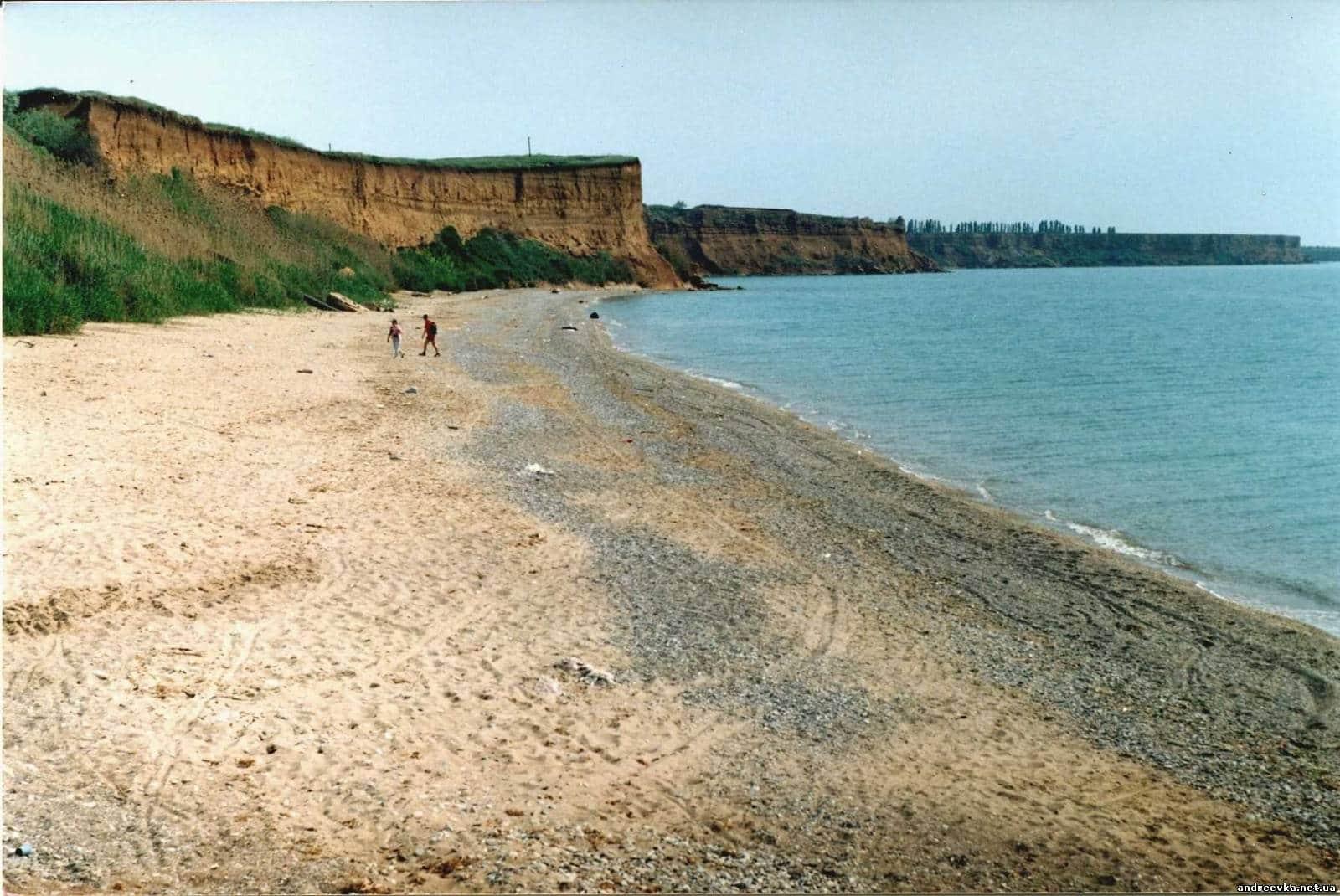 Hero City Sevastopol. Uchkuevka is an ideal beach for family holidays