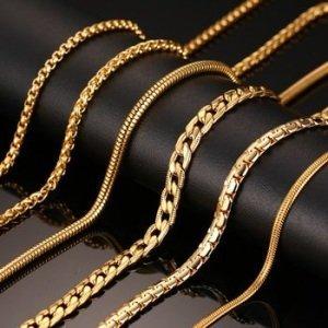 f88ee912a70 Juveelikauplused pakuvad meeste kullast ehteid 375, 500, 585, 750, 958 ja  999 proovi.